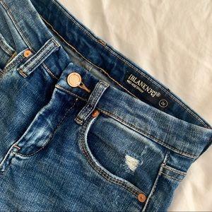 Distressed Dark Wash Jeans
